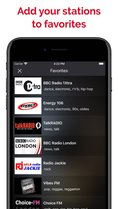myTune Radio UK FM, AM screenshot 4
