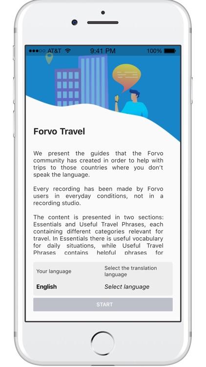 Forvo Travel