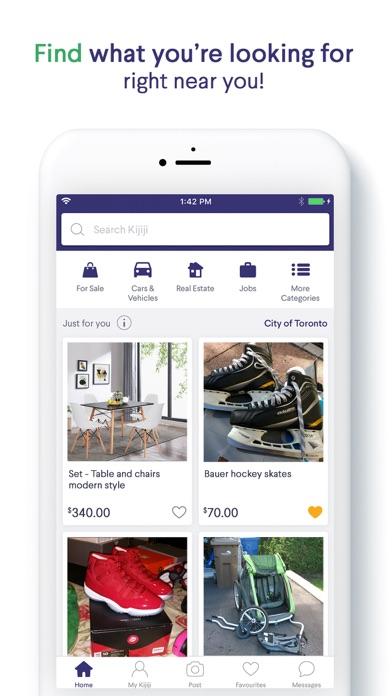 Kijiji Ads: Shop Local & Save screenshot one