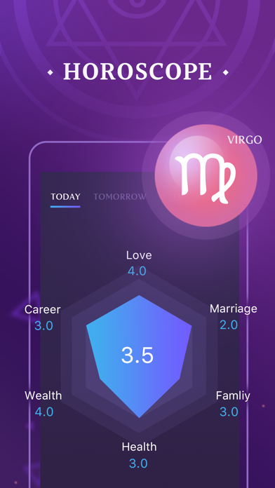 download Palm Seer - Aging, Horoscope apps 0