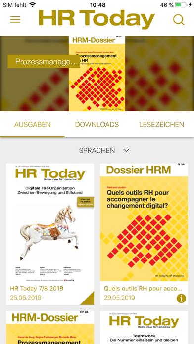 HR Today Magazin screenshot two