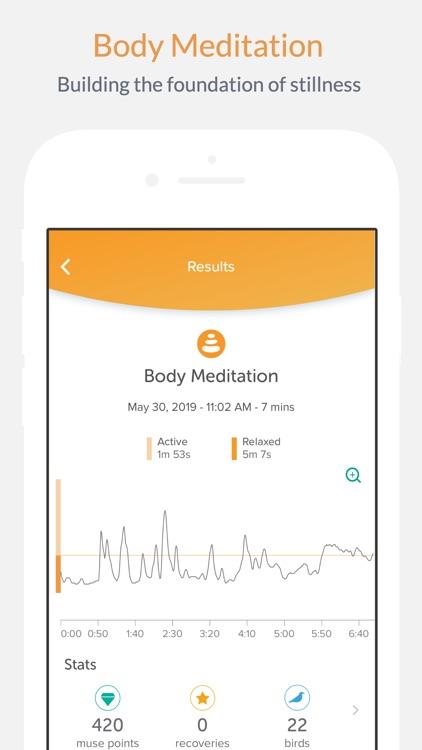 Muse: Meditation Assistant screenshot-5