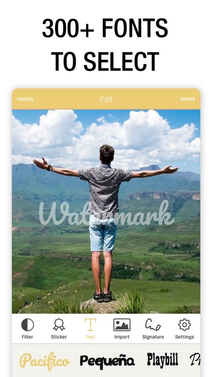 Watermark Photo: Add Copyright screenshot-7