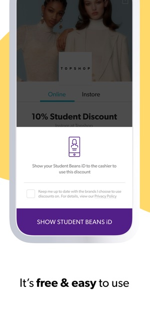 Student Beans Discount Codes On The App Store
