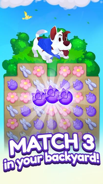 Backyard Bash: Match 3 Game