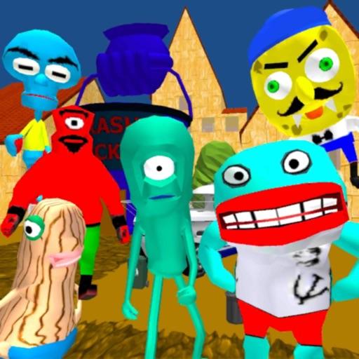 Planktons Gang. Sponge Escape