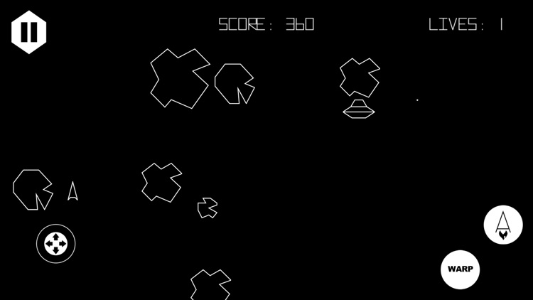 Asteroids 5400 screenshot-3