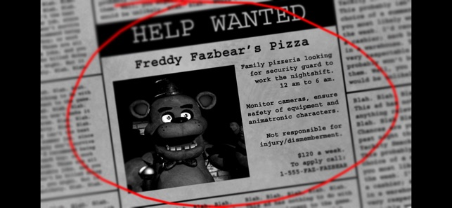 ‎Five Nights at Freddy's