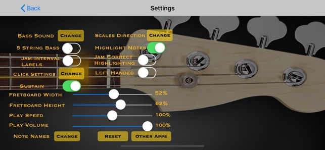 Bass Guitar Tutor on the App Store