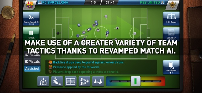 PES CLUB MANAGER on the App Store