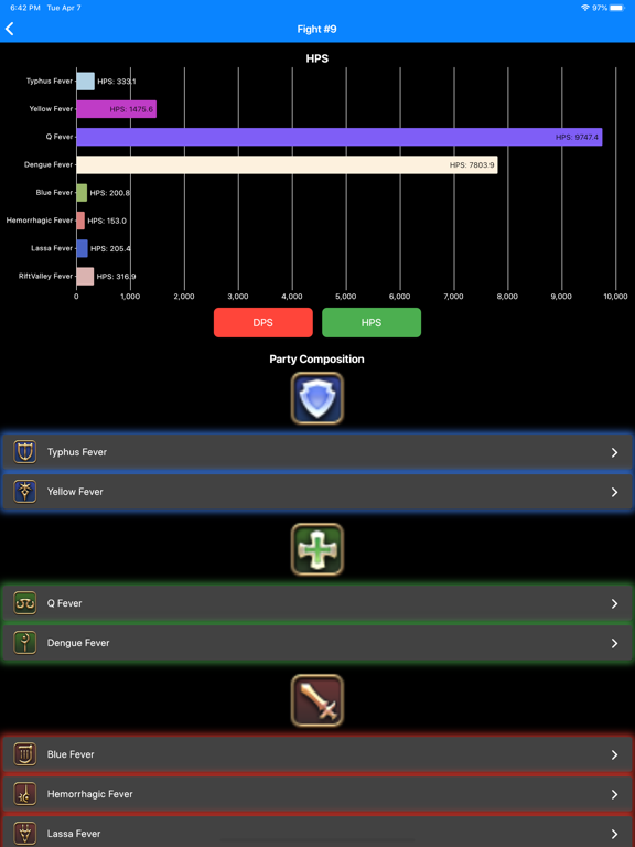 FFXIV Battle Logs screenshot #4