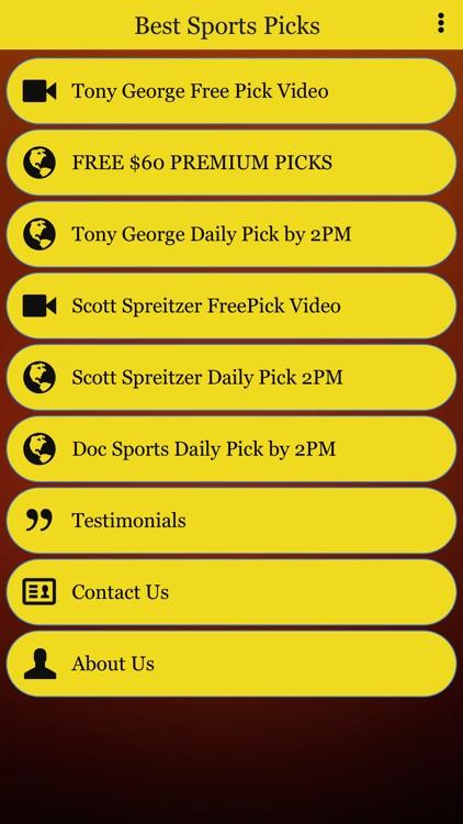 Sports Picks Experts