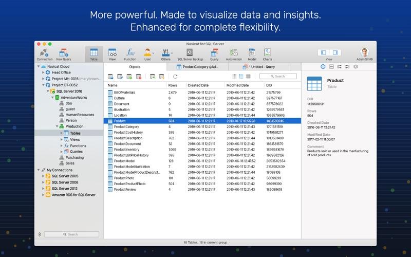 Navicat 15 for SQL Server for Mac