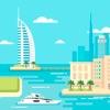 Dubai 2020 — offline map