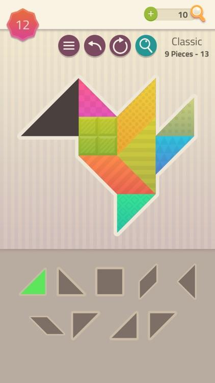 Polygrams - Tangram Puzzles