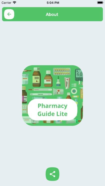 Pharmacy Guide Lite screenshot-6