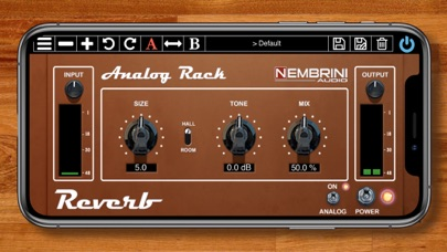 Analog Rack Reverb
