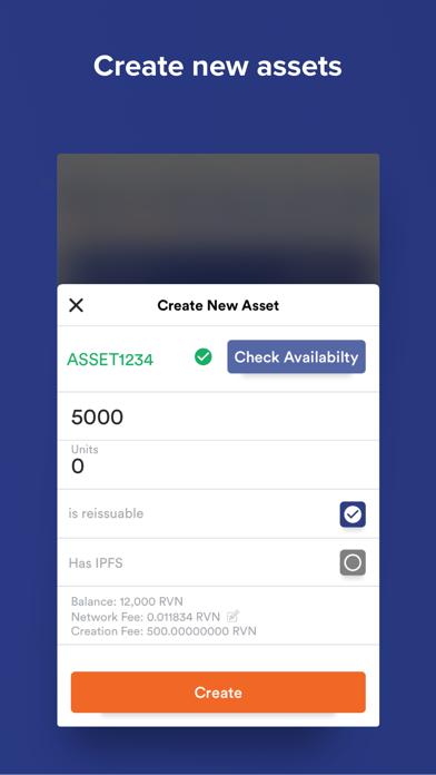 RVN Wallet screenshot two