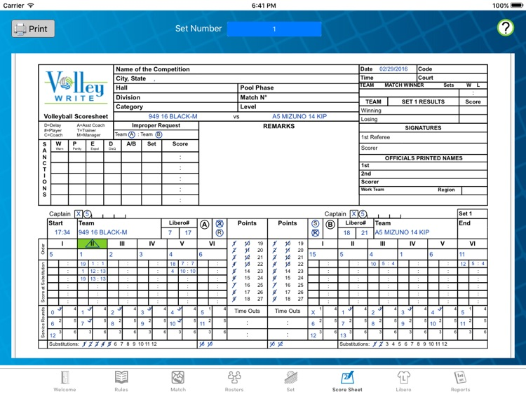 VolleyWrite Season screenshot-4