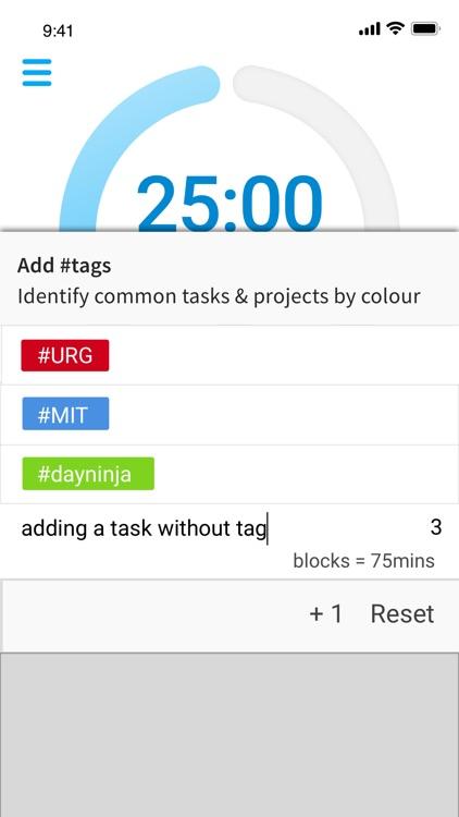 DayNinja - Flow & Focus Timer+ screenshot-4