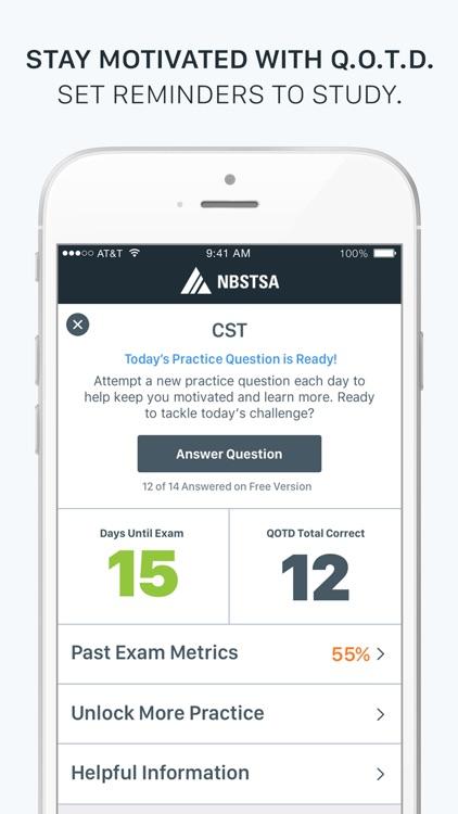 Official NBSTSA CST Exam Prep screenshot-4