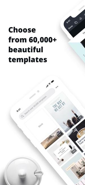 Canva - Graphic Design Creator on the App Store