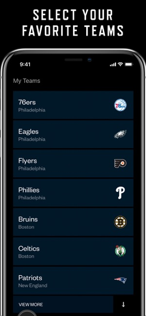 MyTeams by NBC Sports on the App Store