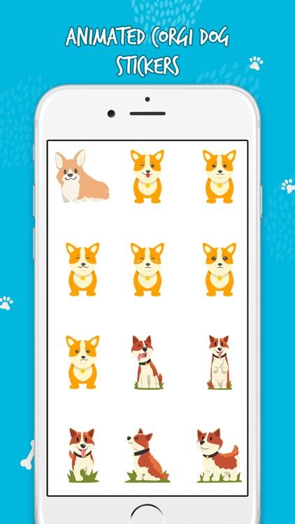 Cute Corgi Animated Emojis screenshot-3