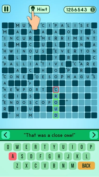 Cross Word Puzzle Master Fill