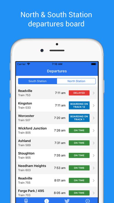 MBTA Rail by Eric Hynds (iOS, United States) - SearchMan App Data