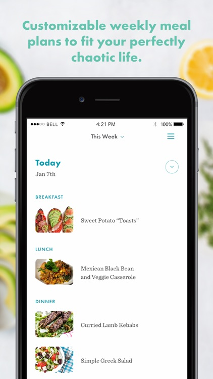 Real Plans - Meal Planner screenshot-4