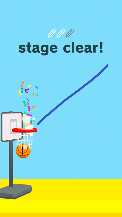 Draw Dunk! screenshot 1