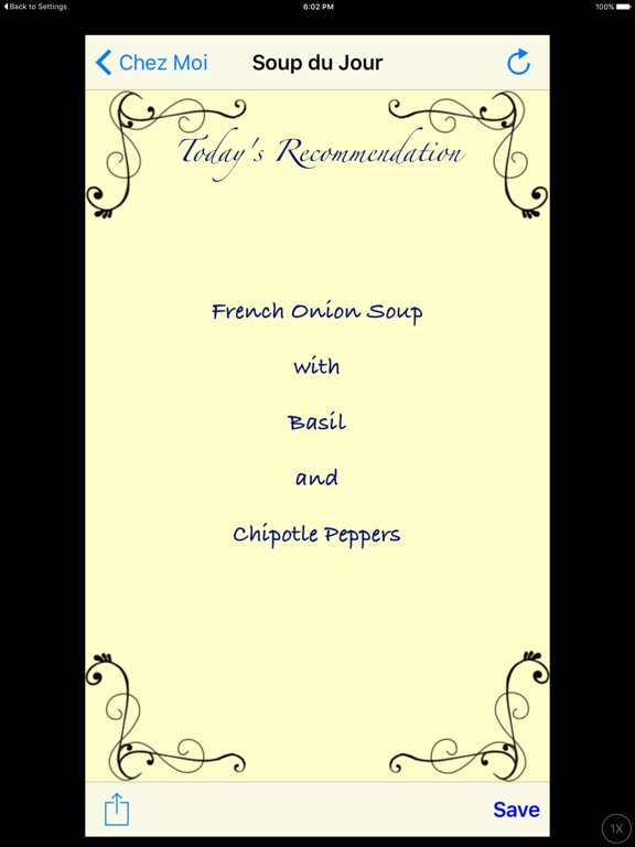 Chez Moi - Ideas for Lunch Screenshots