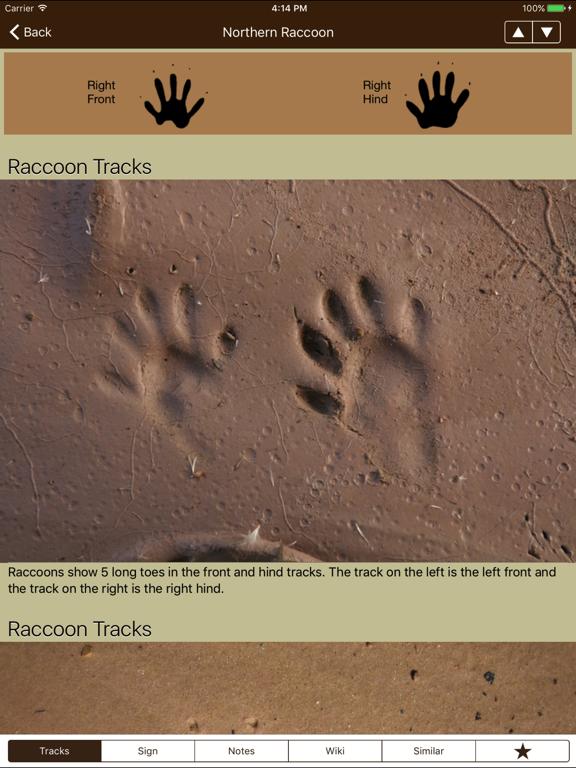 iTrack Wildlife Lite screenshot