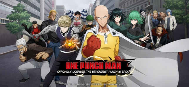 Mod Game One-Punch Man: Road to Hero for iOS