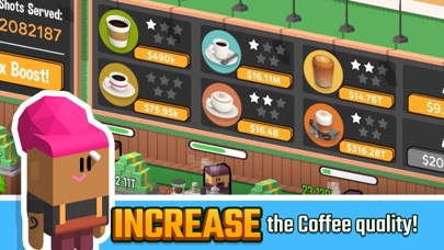 Idle Coffee Corp screenshot 2