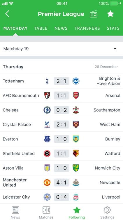 Onefootball - Soccer Scores screenshot-4
