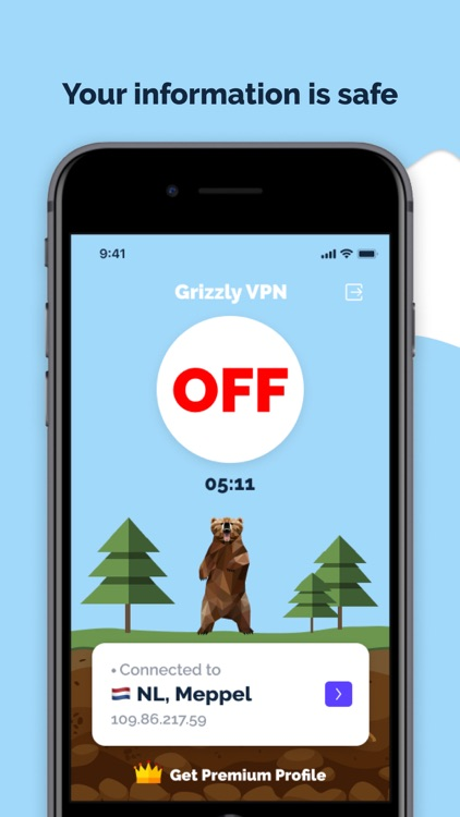 Grizzly VPN - Fast & Unlimited screenshot-3