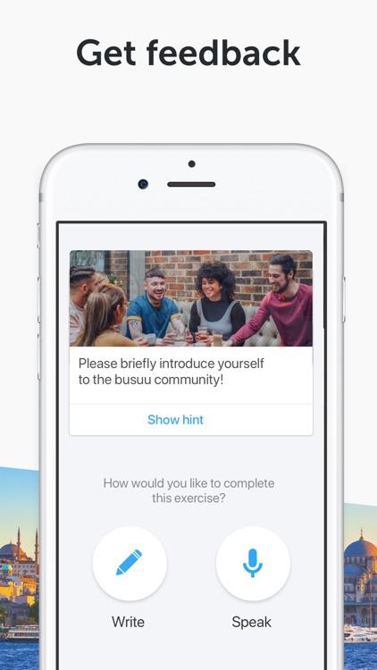 Learn English with Busuu screenshot-3