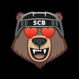 Bärmoji-Sticker - SC Bern
