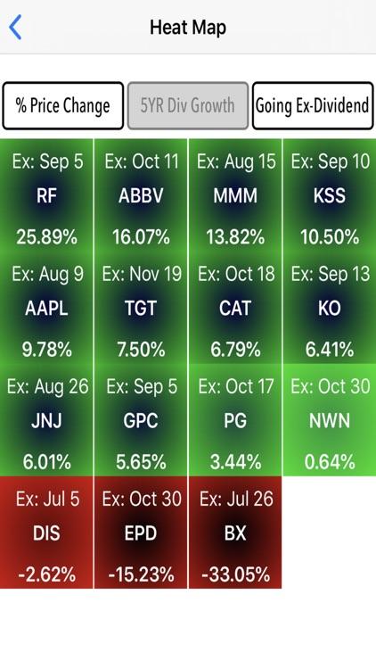 Divtracker Dividend Tracker screenshot-3