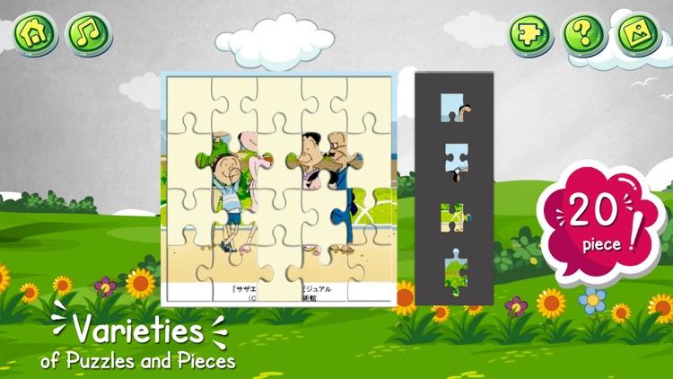 Cartoon jigsaw puzzles game screenshot-4