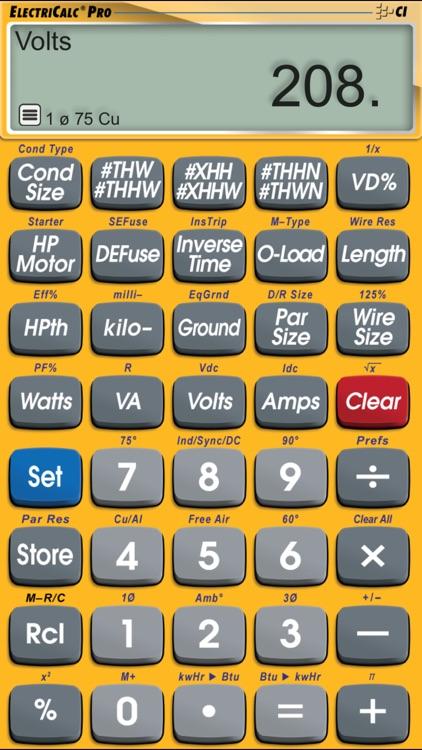 ElectriCalc Pro screenshot-6