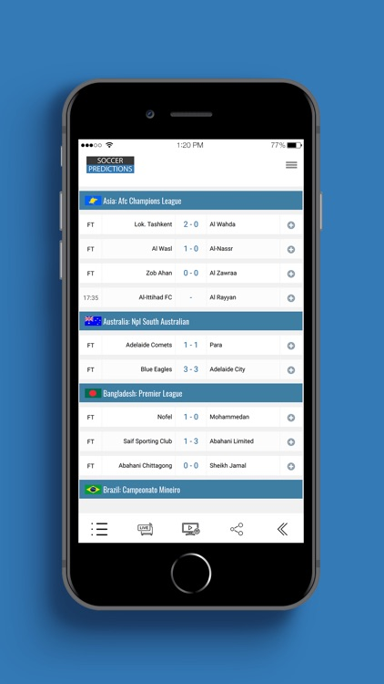 Soccer Predictions screenshot-3