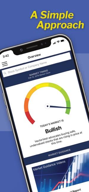 VectorVest Stock Advisory on the App Store