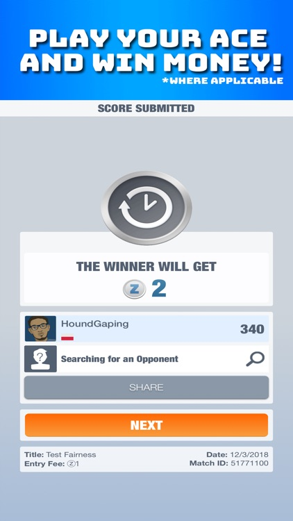 21 - Win Money