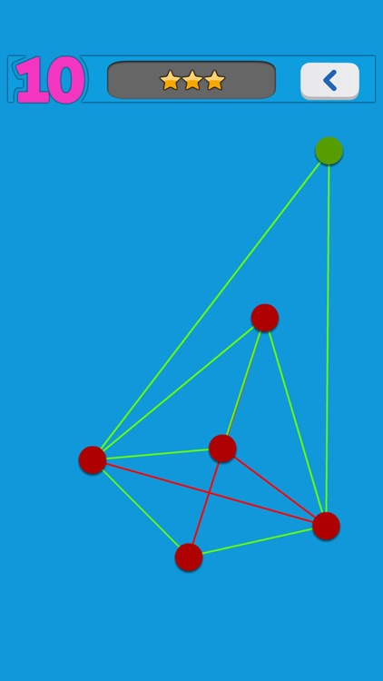 No Cross Line - puzzle game