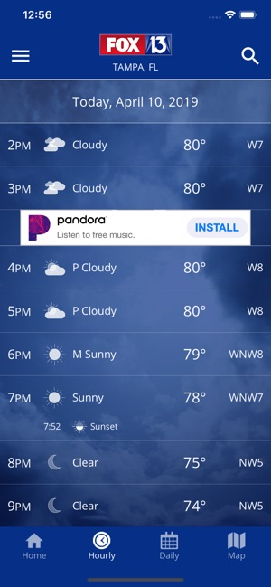 FOX 13: Tampa SkyTower Weather on the App Store