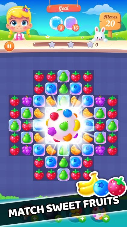 Fruit Swipe: Match 3 Puzzle