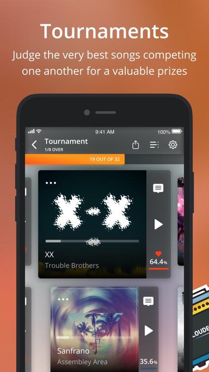 Louder.me - new music app screenshot-3